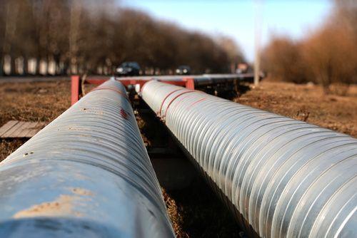 underground utilities pipes installation construction