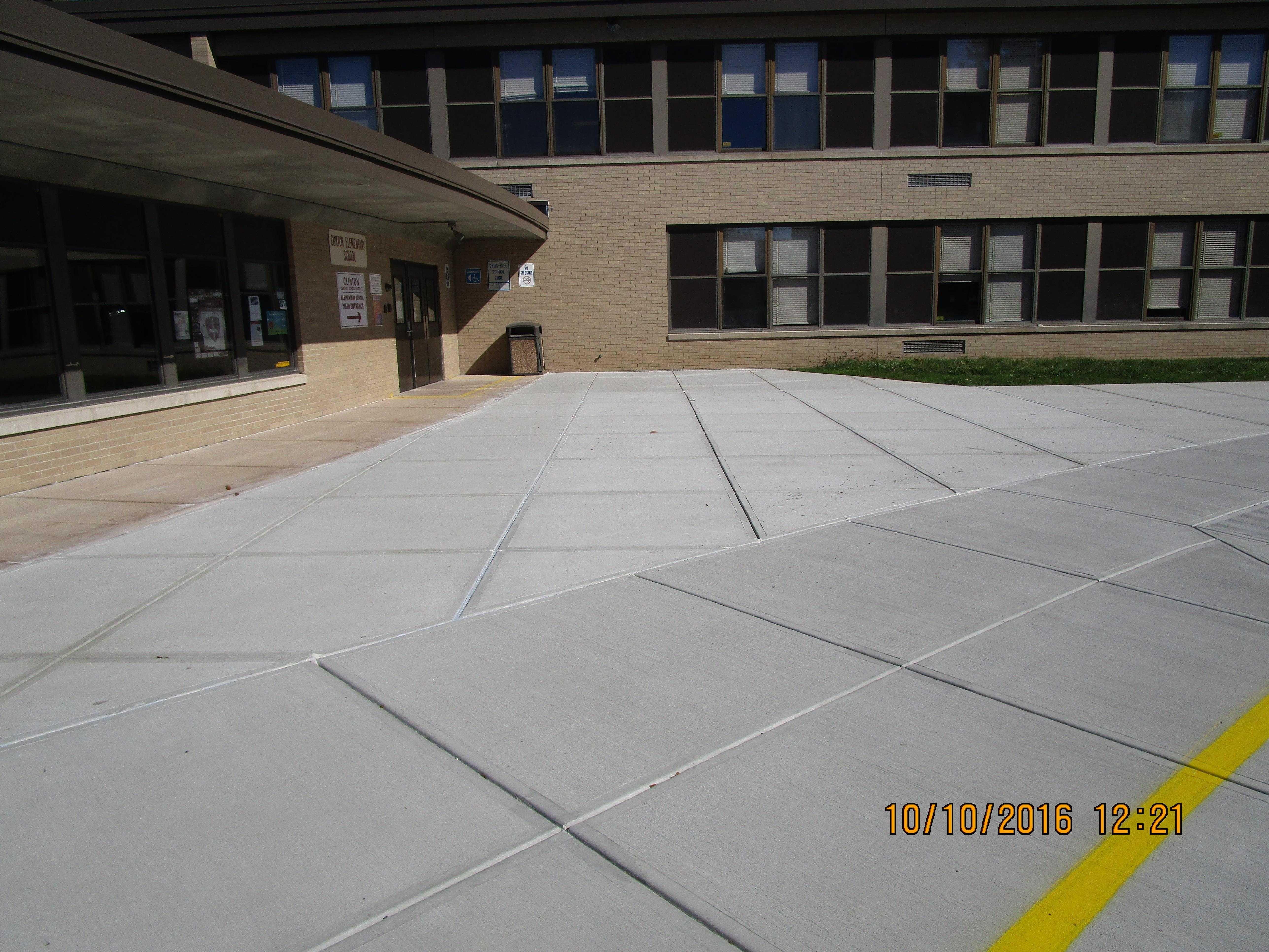 Clinton Central School District Sidewalk Replacement 001