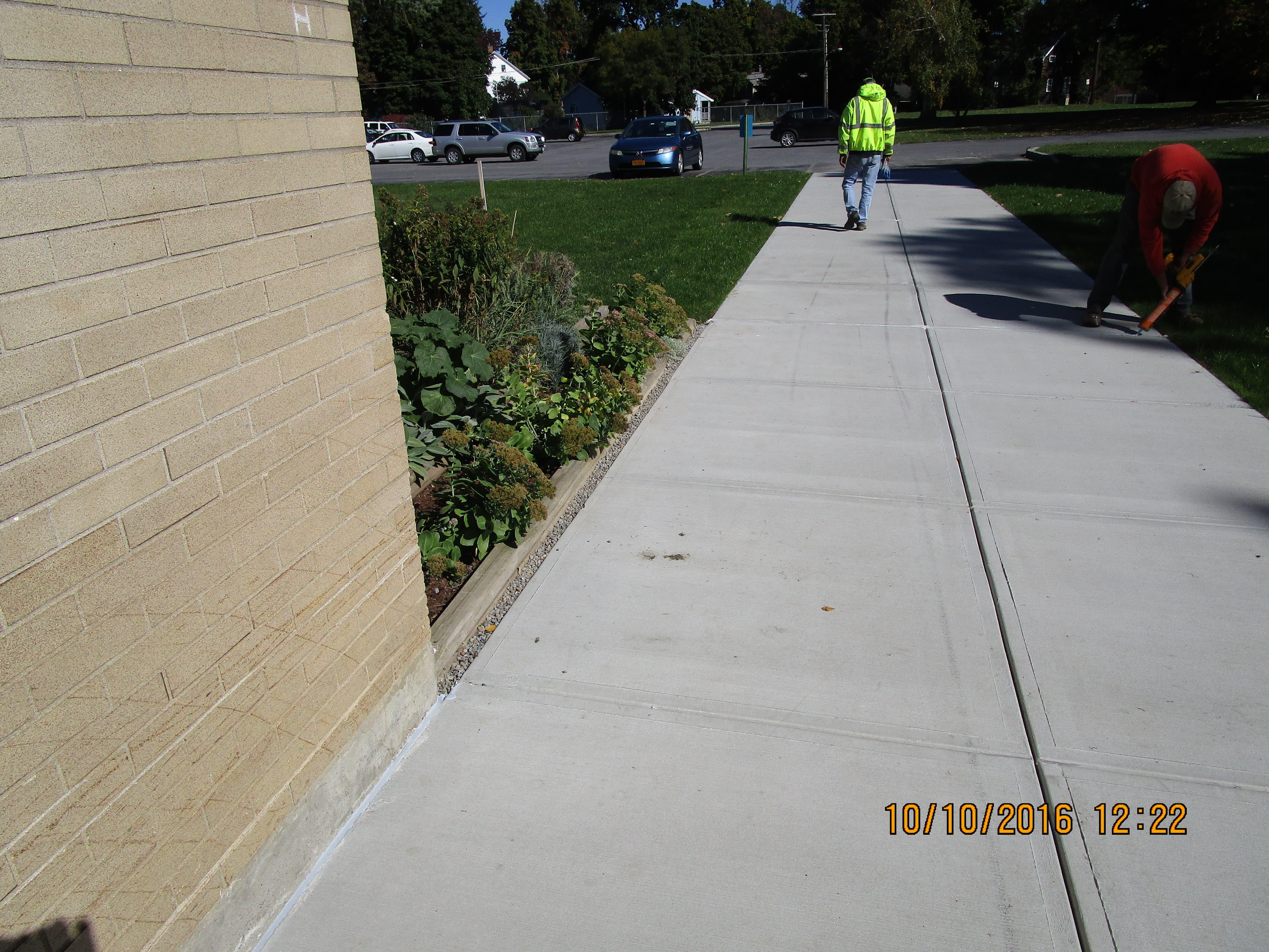 Clinton Central School District Sidewalk Replacement 003